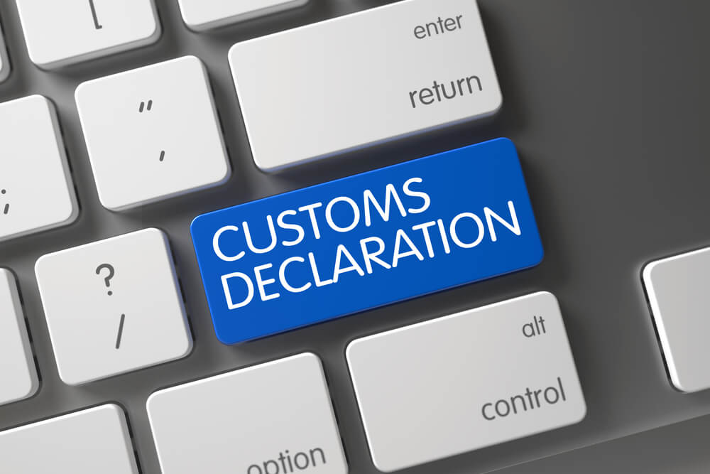 Electronic customs declaration programme